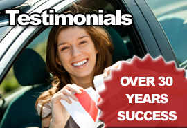 Testimonials - Over 30 Years Success.